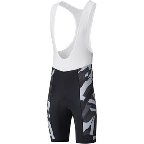 Shimano Team Bib Shorts Heren grijs